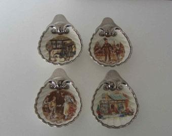 Vintage English Ware Landcaster Sandland Hanley England Clam Shell Shape