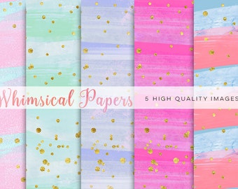 colorful watercolor paper, Watercolor Rainbow Clipart, Rainbow Digital Paper, Rainbow mint clipart, Watercolor Digital Paper Rainbow Colors