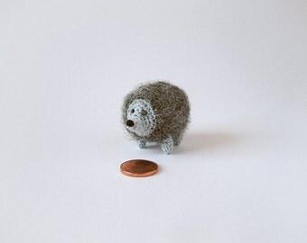 Hedgehog Miniature, Crochet Hedgehog, Crochet Miniature, Crochet Animal, Miniature Animal, Crochet Hedgehog, Miniature Hedgehog