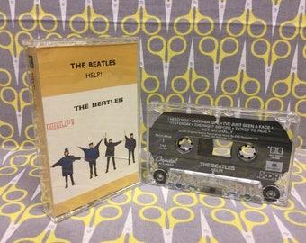 Help! by The Beatles Cassette Tape rock Vintage