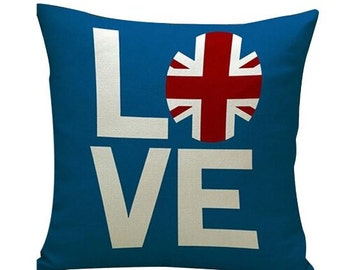 Love England - Pillow Cover