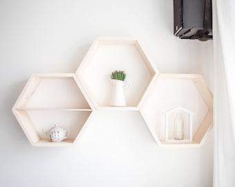 Hexagon shelf  (size M)