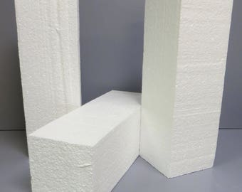 12 styrofoam blocks - 4x4x12