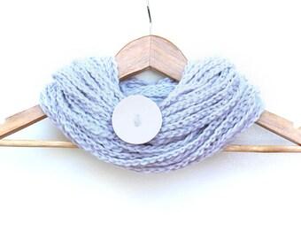 Snow Bunny Chain Infinity Scarf