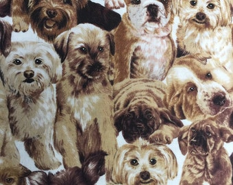 Best of Show Packed Puppies by Fabri-Quilt fabric by the yard 112 99041