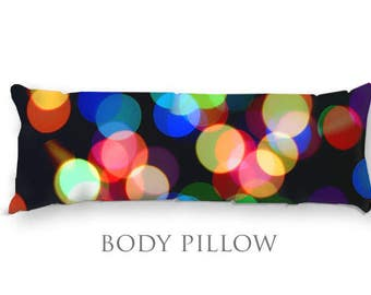 Colorful body pillow Etsy