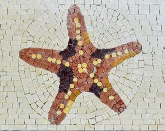 Mosaic Patterns - Starfish