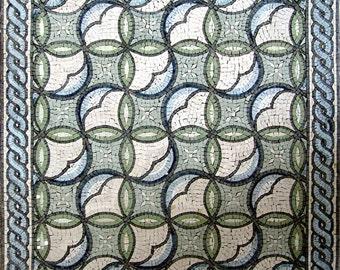Roman Floral Mosaic - Andrea