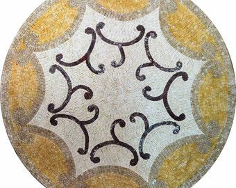 Round Accent Mosaic - Sabra