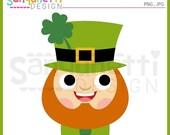 60% OFF St patricks clipart, irish clipart, st patricks clip art, leprechaun clipart, spring clipart, instant download