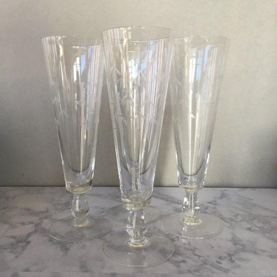 Etched Beer Glasses