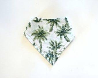 Bandanna Bib- Palm Tree