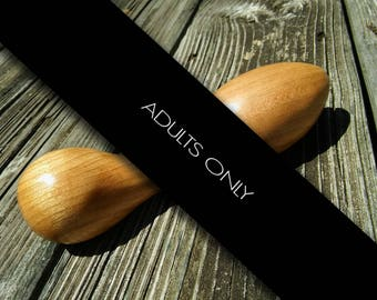 OUT OF STOCK!!! Wooden Sextoy Handmade Dildo Cinder