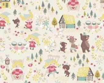 Goldilocks and The Three Bears Fabric