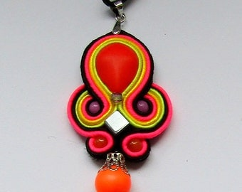 Pendant soutache Energy