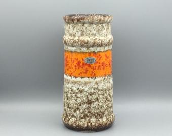 Jopeko Keramik - height : 25 cm.  Fat Lava   Mid Century Modern 1960s / 1970s  vase. WGP