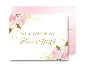 Will You Be My Bridesmaid Card, Bridesmaid Cards, Ask Bridesmaid, Bridesmaid Maid of Honor Gift, Matron of Honor, Flower Girl #CL111