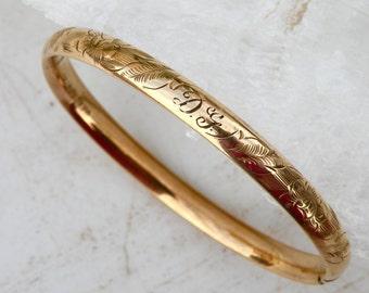 1920's 12K Gold Bracelet for Small Wrist
