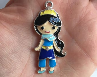 H3 Jasmine Aladdin Pendant for Chunky Necklaces