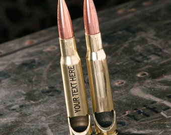 Bullet Bottle Opener Made from a Real 50 Caliber® Bullet Shell Casing with FREE SHIPPING