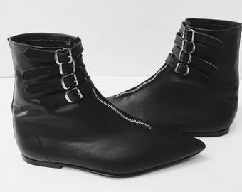 Original Pikes-Minx 4 Buckle Boots