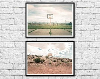 2 Art-Posters 30 x 40 cm - Streetball courts