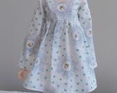 Floral print dress for MSD Minifee/Unoa, Slim Mini