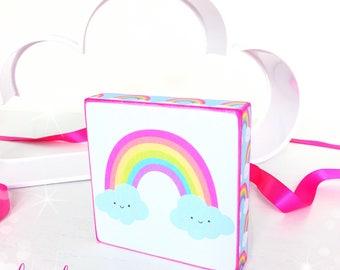 Rainbows Standing Plaque...
