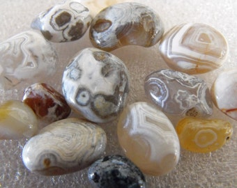 Polished Blue Orbicular Stones , Rocks With Fabulous Patterns