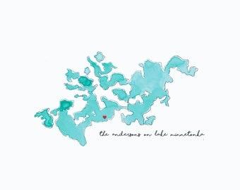 Lake Minnetonka Heart Where You Live