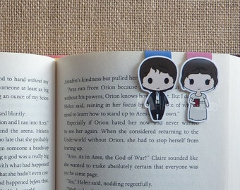 Magnetic Bookmarks • True Love