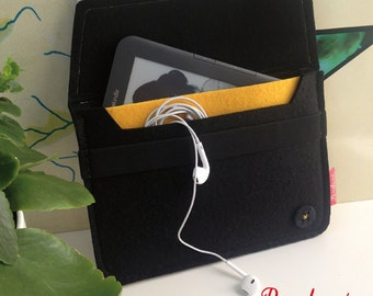 iPad Mini Case, Kindle Case, Sleeve Case, Cover Case, Cover Felt, Tablet Case, iPad Mini Custodia