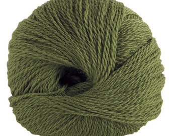 KNIT PICKS Palette Yarn, Fingerling, 50g, 231 Yds, Color - Clover