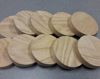 Solid Oak Circles