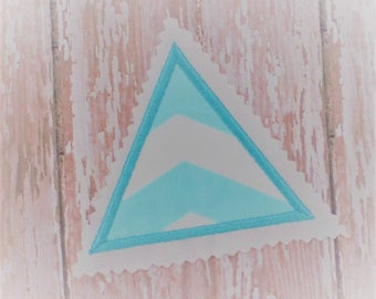 Applique Digital Download - Triangle Embroidery Design - Applique Triangle Digital File - Triangle Digital Download - Triangle Instant File