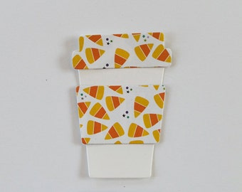 Coffee Cup-Takeout Die Cuts