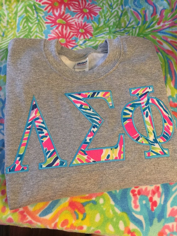 Items similar to lilly pulitzer sorority letters for Lilly pulitzer sorority letters