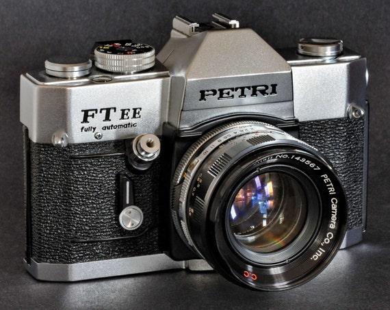 Petri Ft Ee Fully Automatic 35mm Slr Camera Amp 55mm F 2 C C