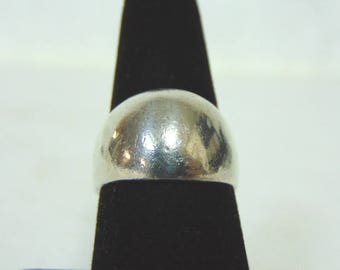 Womens Vintage Estate Sterling Silver Ring 9.6g E3025