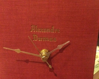 The Works of Alexandre Dumas Book Clock