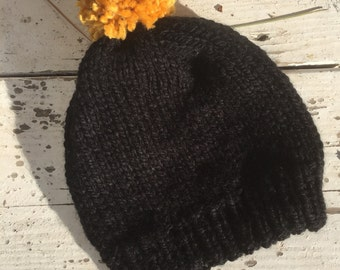 Counterpoint Beanie // slouchy beanie // unisex // gifts for him // gifts for her