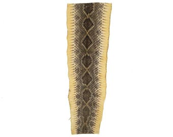 "Rattlesnake Skin Project Piece 18"""