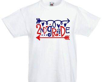 School Spirit Grade Arrow T-Shirt