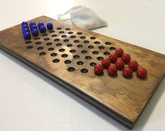 Two Player, Chinese Checkers, Game Board, Wood, Wooden, Game Boards, Board Game, Glass Marbles, Marbles