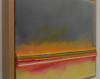 Encaustic Painting Stratum 184