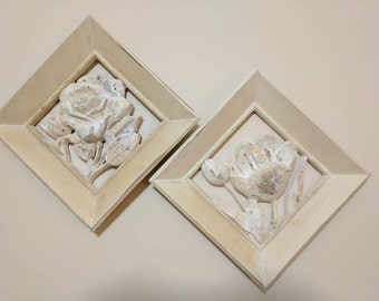 Roses and tulip wall art.         FREE SHIPPING!!          Item # 25171