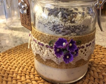 Milk Bath Jars.