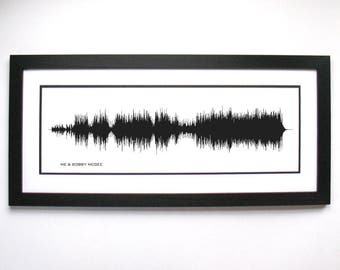 Me and Bobby McGee - Art Print, Framed Print, Canvas - Sound Wave Art