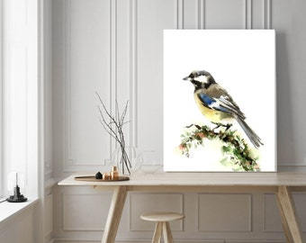 Bird Print, Painting of bird, Watercolor Print, Bird Art, watercolor painting art print, wall art