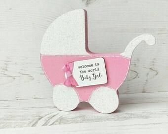 Baby girl Gift ~ New Baby Gift ~ It's a girl Gift ~ Baby Keepsake-new baby girl-new baby girl gift